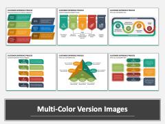 Customer Experience Process Multicolor Combined
