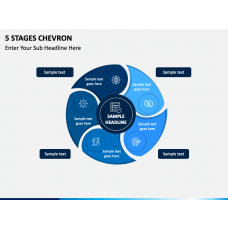 5 Stages Chevron Free Slide 1