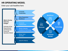 HR Operating Model PPT Slide 2