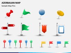 Azerbaijan Map PPT Slide 6
