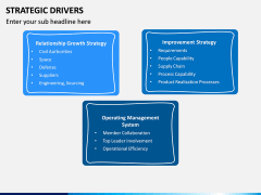 Strategic Drivers PPT Slide 12