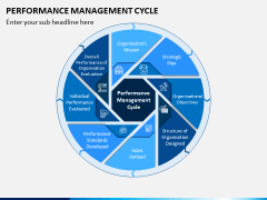 Performance Management Cycle PPT Slide 1
