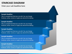 Staircase Diagram PPT Slide 5