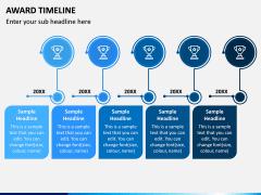 Award Timeline PPT Slide 3