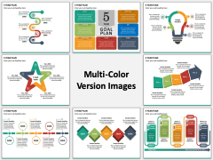 5 Year Plan Multicolor Combined