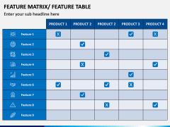 Features Matrix PPT Slide 8