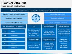 Financial Objectives PPT Slide 8