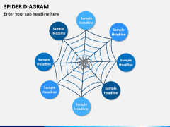 Spider Diagram PPT Slide 3