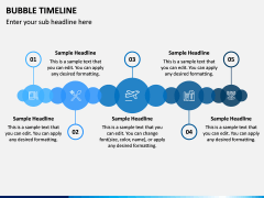 Bubble Timeline PPT Slide 7