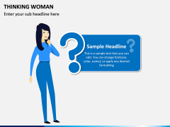 Thinking Woman PPT Slide 4