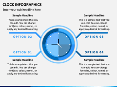 Clock Infographics PPT Slide 2