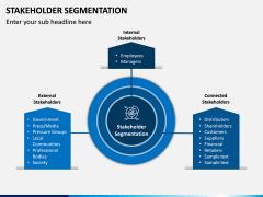 Stakeholder Segmentation PPT Slide 1