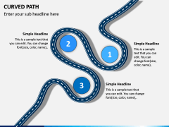 Curved Path PPT Slide 8