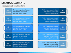 Strategic Elements PPT Slide 5
