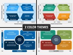 Project Portfolio Matrix PPT Cover Slide