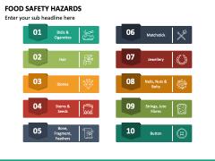 Food Safety Hazards PPT Slide 6