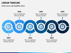 Linear Timeline PPT Slide 4