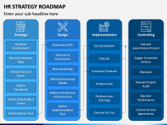 HR Strategy Roadmap PPT Slide 6