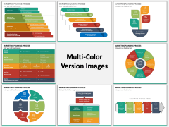 Marketing Planning Process Multicolor Combined