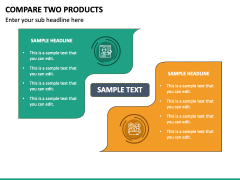 Compare Two Products - Free PPT Slide 2