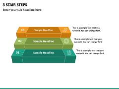 3 Stair Steps PPT Slide 2