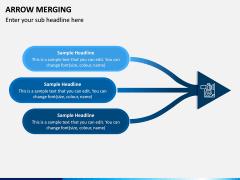 Arrow Merging PPT Slide 5