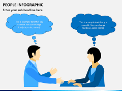 People Infographic PPT Slide 6