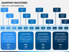 Quarterly Milestone PPT Slide 6