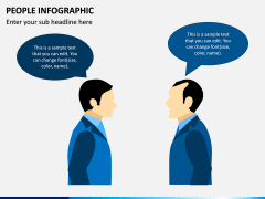 People Infographic PPT Slide 4
