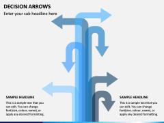 Decision Arrows PPT Slide 6