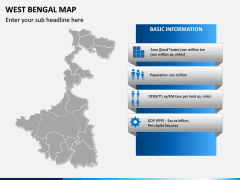 West Bengal Map PPT Slide 3