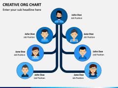 Creative Organizational Chart PPT Slide 2