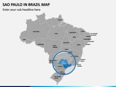 Sao Paulo Map PPT Slide 4