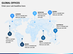 Global Offices PPT Slide 2