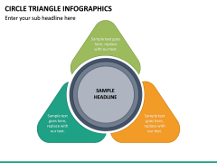 Circle Triangle Infographics PPT Slide 2