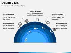 Layered Circle PPT Slide 7