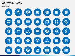 Software Icons PPT Slide 1