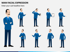 Man Facial Expression PPT Slide 2