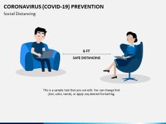 Coronavirus (COVID-19) Prevention PPT Slide 1