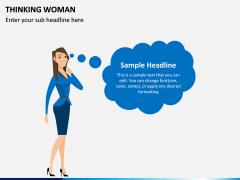 Thinking Woman PPT Slide 5