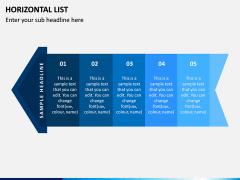 Horizontal List Infographics PPT Slide 3