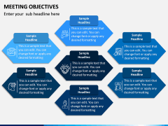 Meeting Objectives PPT Slide 5