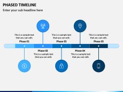 Phased Timeline PPT Slide 1