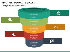 Ring Sales Funnel - 5 Stages PPT Slide 2