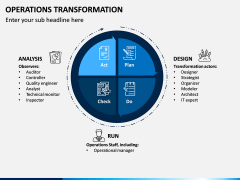 Operations Transformation PPT Slide 1