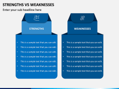 Strengths Vs Weaknesses PPT Slide 3