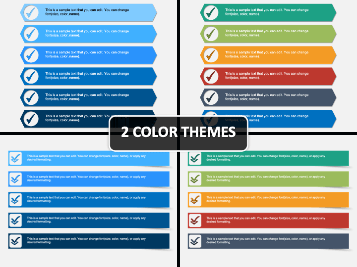 3D Checklist PPT Cover Slide