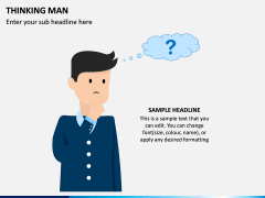 Thinking Man PPT Slide 4