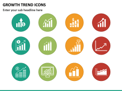 Growth Trend Icons PPT Slide 5