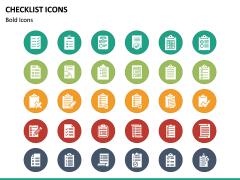 Checklist Icons PPT Slide 3
